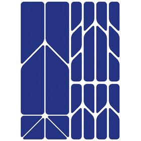 Riesel Design re:flex plus Adesivi riflettenti, blu